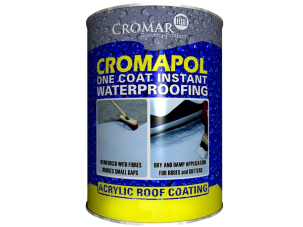 Cromapol Waterproofing Paint on Membrane